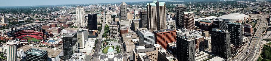 St Louis Panorama Photograph