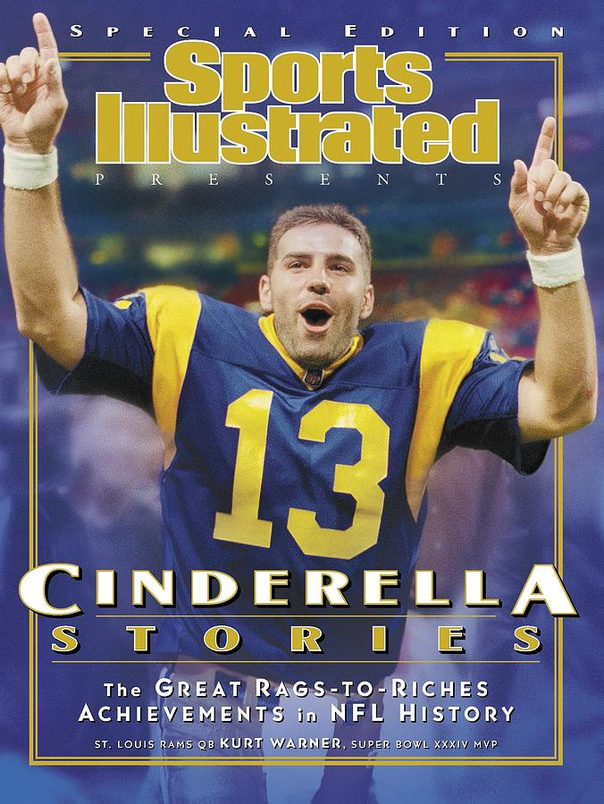 St. Louis Rams Qb Kurt Warner... Sports Illustrated Cover Photograph by Sports Illustrated