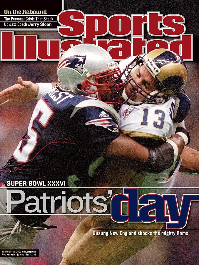 St. Louis Rams Qb Kurt Warner, Super Bowl Xxxvi Sports Illustrated Cover Photograph by Sports Illustrated