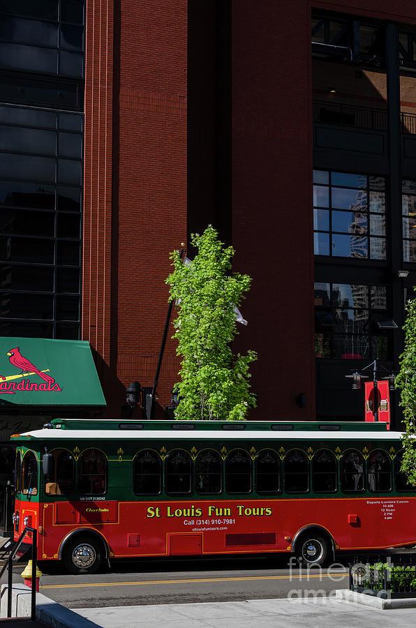 St Louis Trolley by Thomas R Fletcher