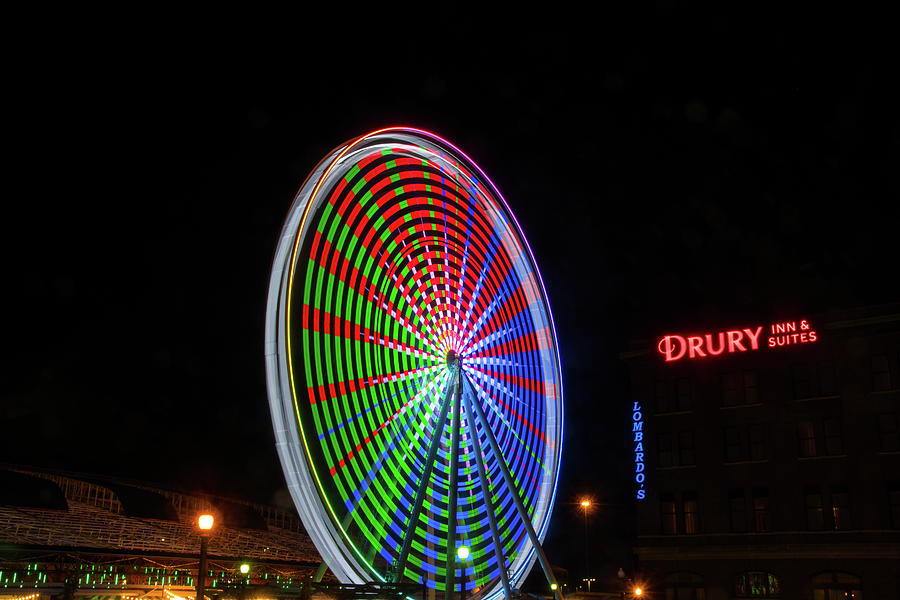 St. Louis Wheel 2 by Steve Stuller