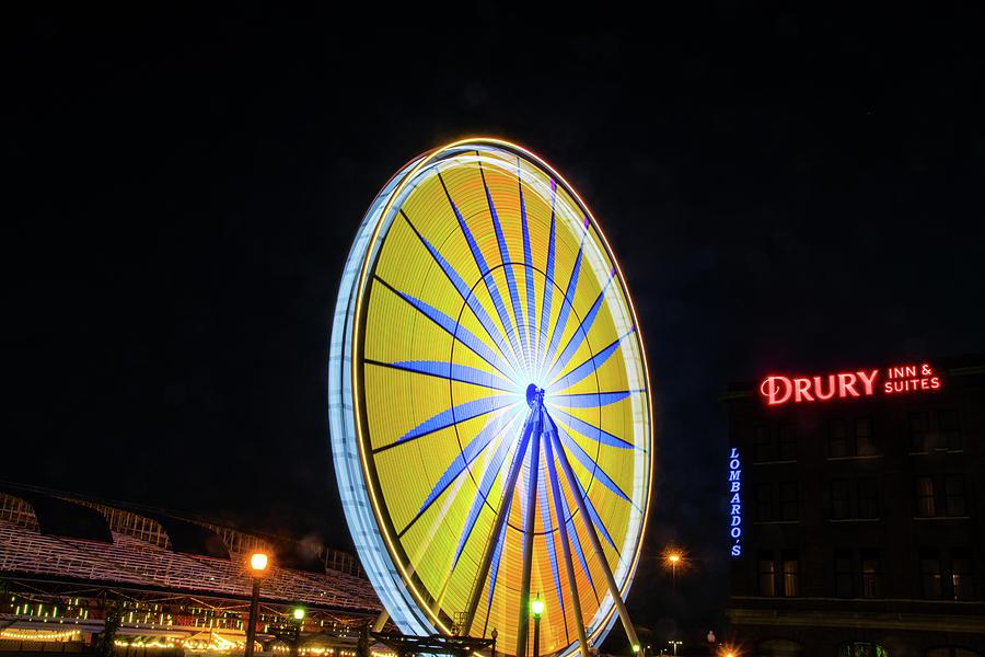 St. Louis Wheel by Steve Stuller
