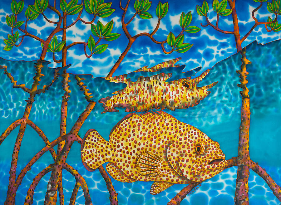 St. Lucia Mangrove by Daniel Jean-Baptiste