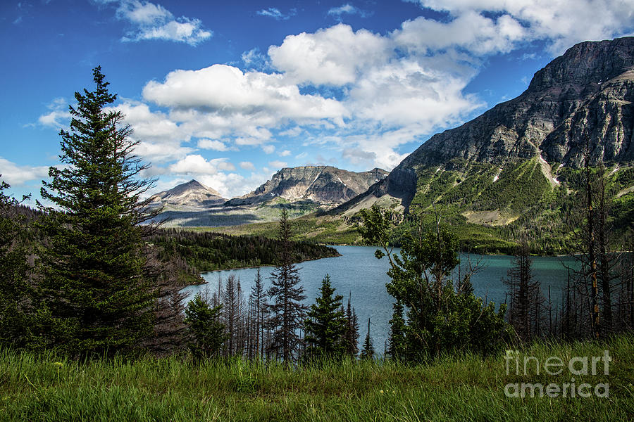 St. Mary Lake by Kathy McClure