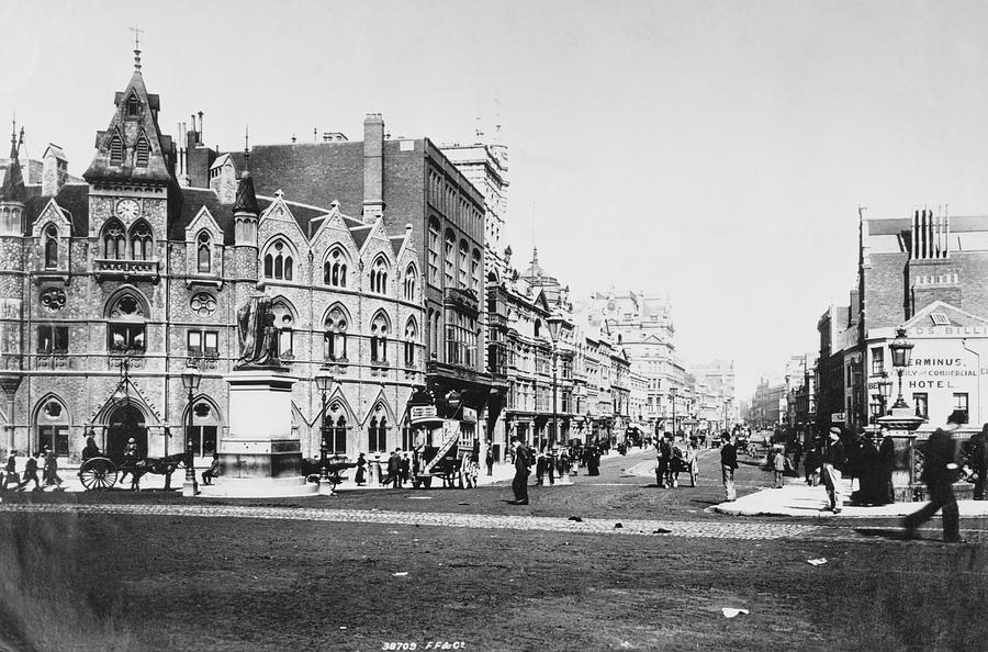 St Mary Street, Cardiff Photograph by Francis Frith