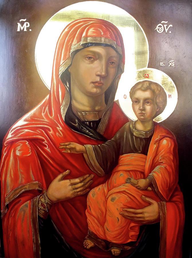 St. Mary Teotokos Painting