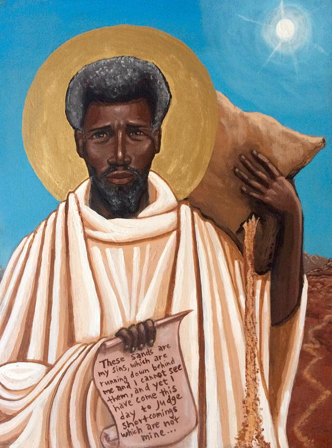 St. Moses the Black by Kelly Latimore