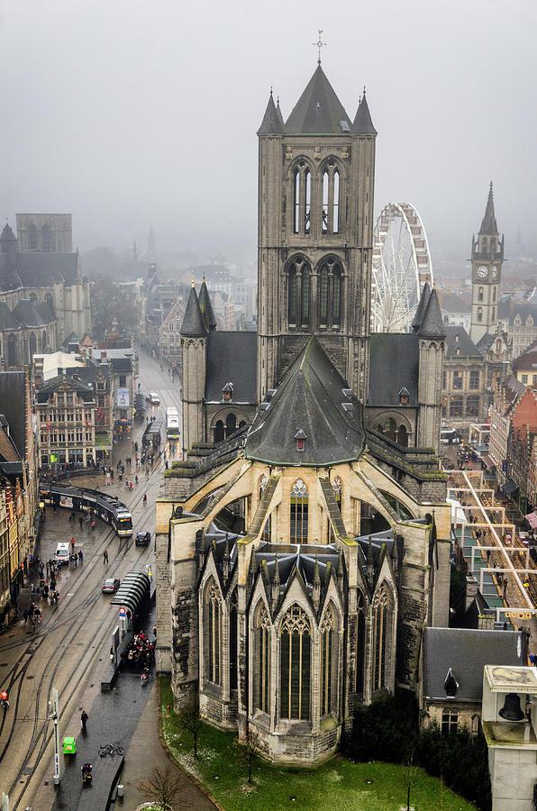 St. Nicholas Church, Ghent. by Pablo Lopez