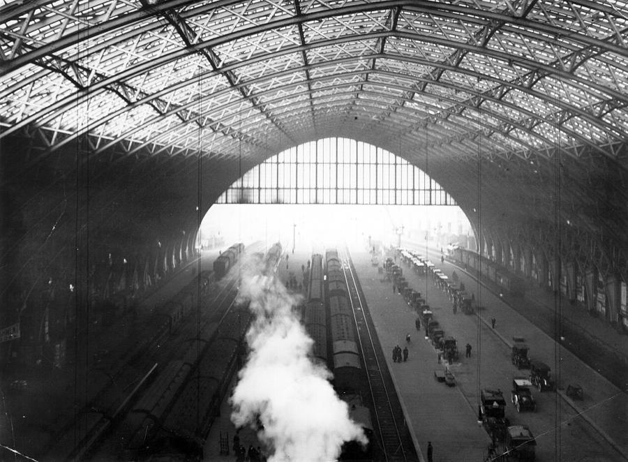 St Pancras Station Photograph by Hulton Archive