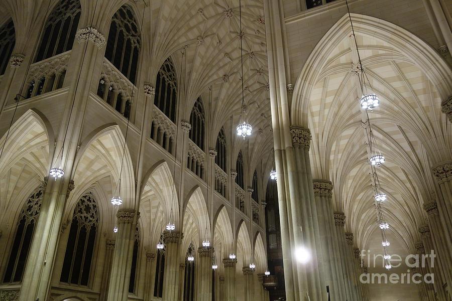 St. Patrick's Cathedral in New York City by Wilko Van de Kamp