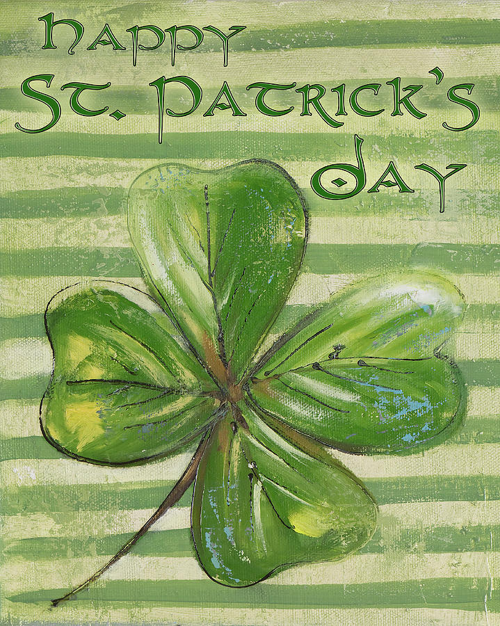St. Patrick's Four Leaf Clover by Patricia Pinto