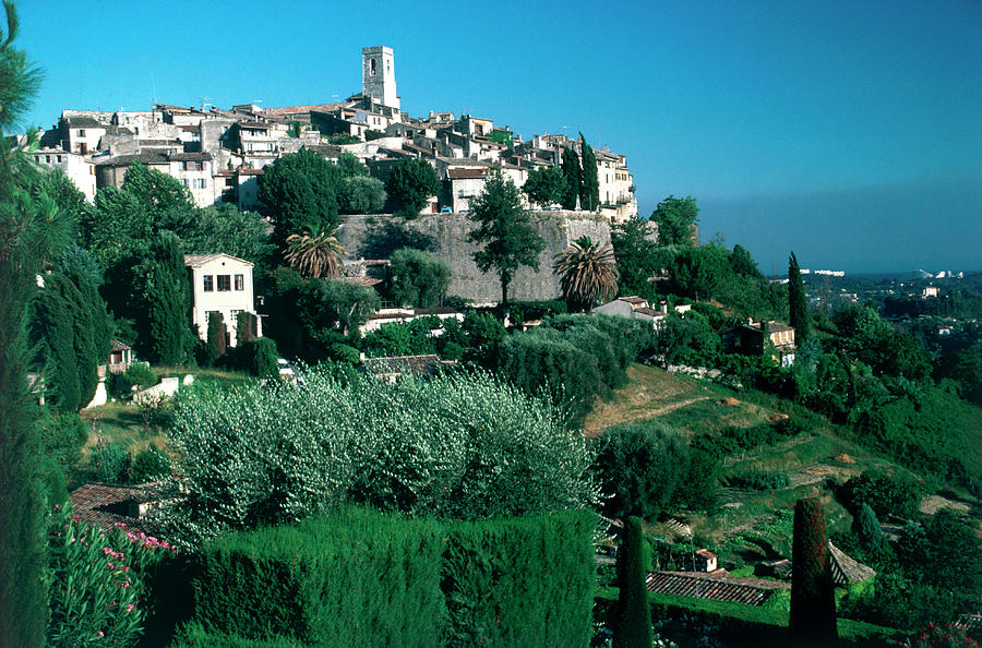 St. Paul De Vence Photograph by Slim Aarons
