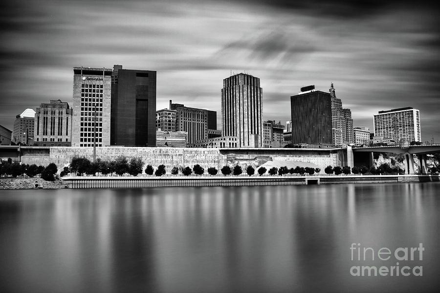 St. Paul, Minnesota Skyline by Jimmy Ostgard