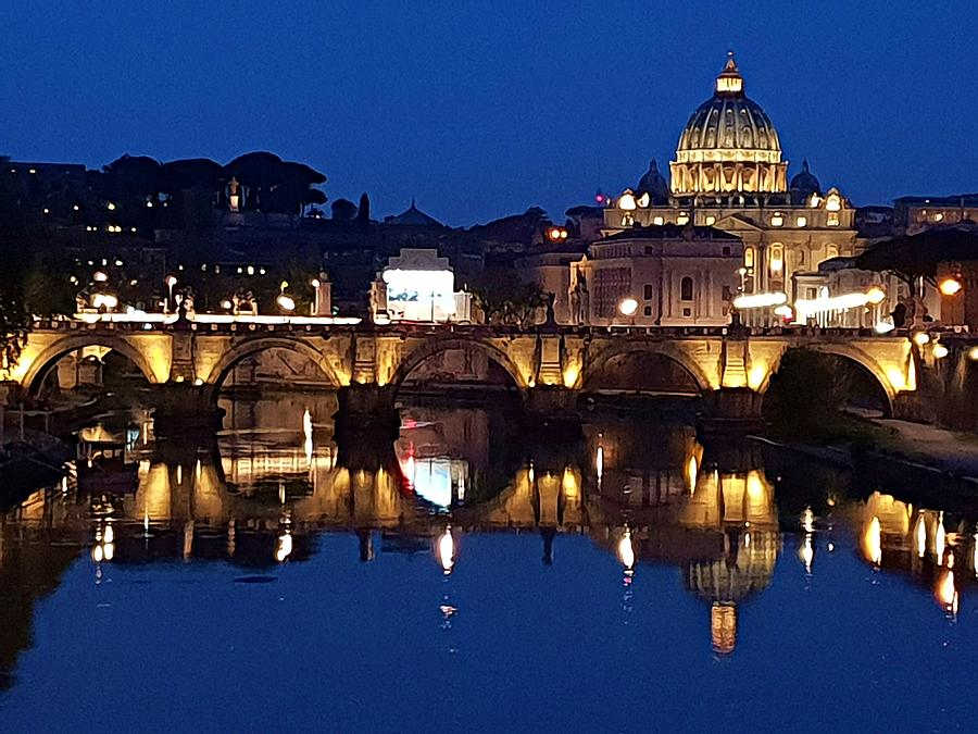 St. Peter's Basilica  by Andrea Whitaker