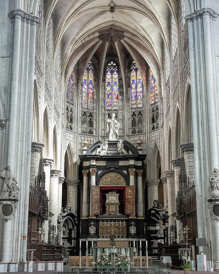 St. Rumbold's Cathedral Interior by Jemmy Archer
