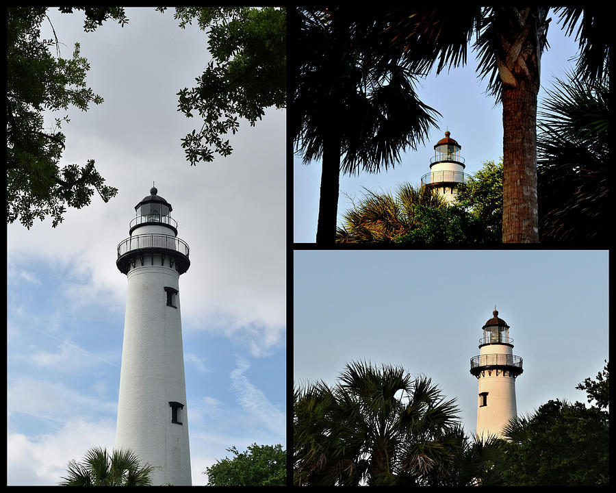 St. Simons Island Lighthouse by Kathy K McClellan