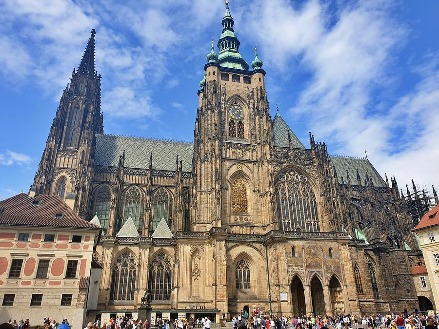 St. Vitus Cathedral  by Andrea Whitaker