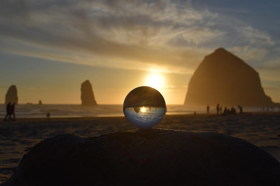 Cannon Beach Photograph - Stability by Lkb Art And Photography