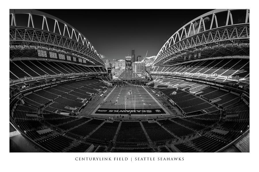 Seattle Seahawks #68 Photograph