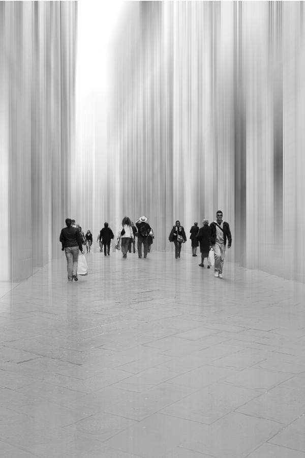 Shopping Photograph - Stadtwege by Bertl Jost