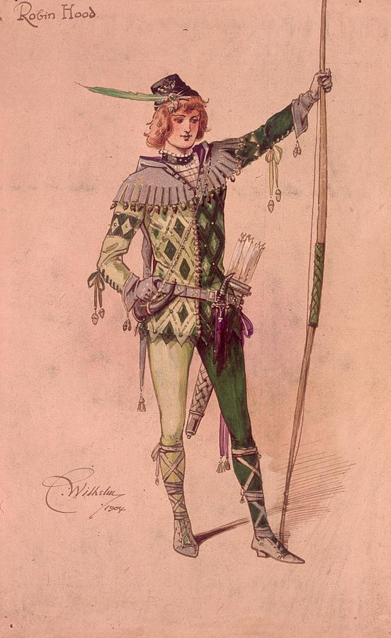 Stage Costume Photograph by C. Wilhelm