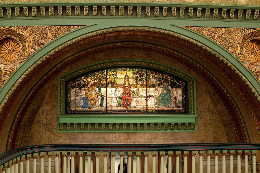 Stained Glass at Union Station by Steve Stuller
