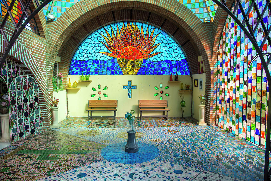 Stained Glass Factory in Cabo by Bill Cubitt