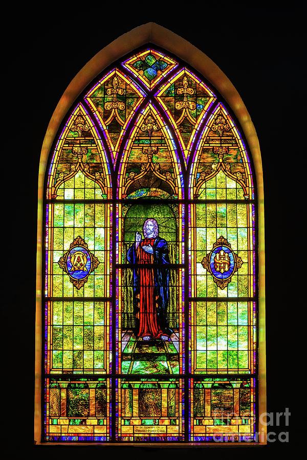 Stained Glass Window by Nick Zelinsky