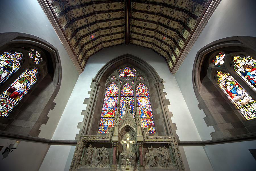 Stained Glass Windows In St. Andrews Photograph by John Short / Design Pics
