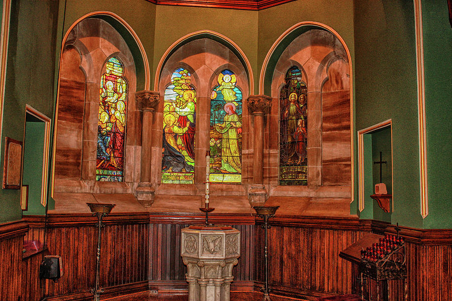 Stained Glass Windows by Robert Hebert