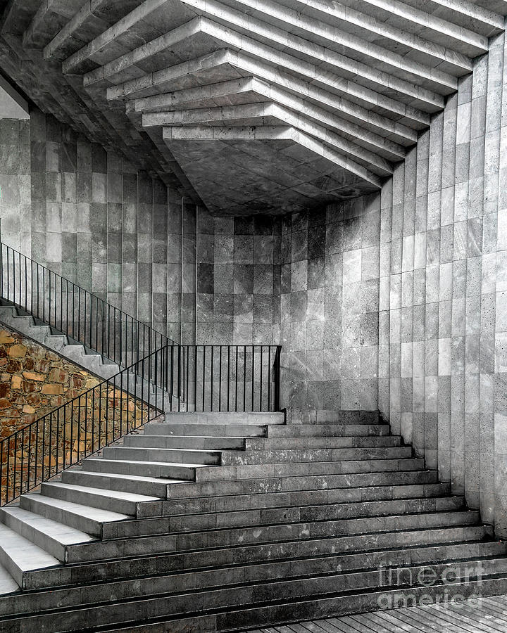 Staircase Geometry by David Meznarich