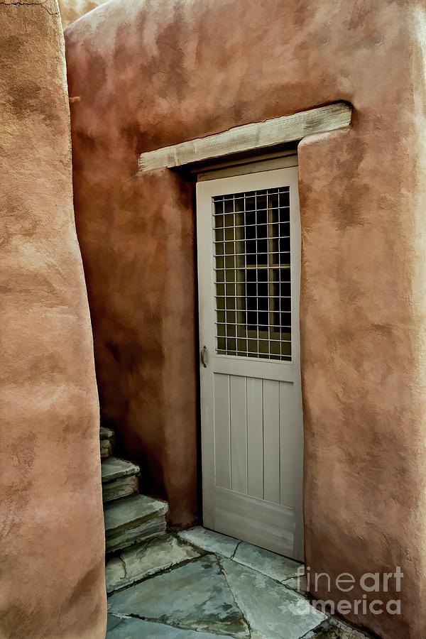 Stairs and Door by Jon Burch Photography