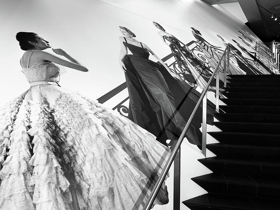 Stairs to Christian Dior by Marilyn Hunt