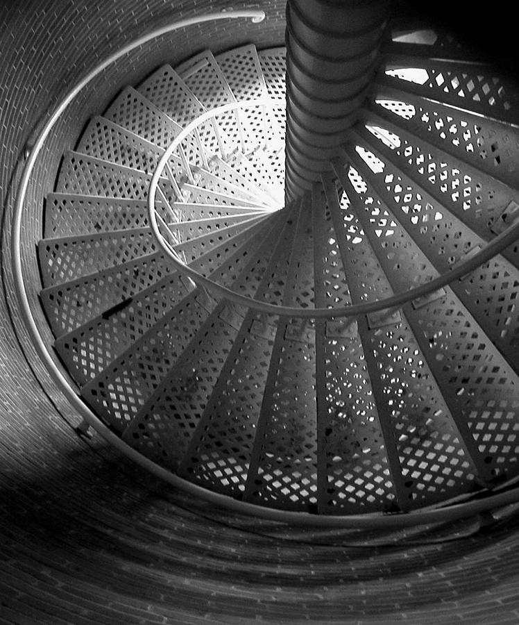 Stairway Photograph by Gary Koutsoubis
