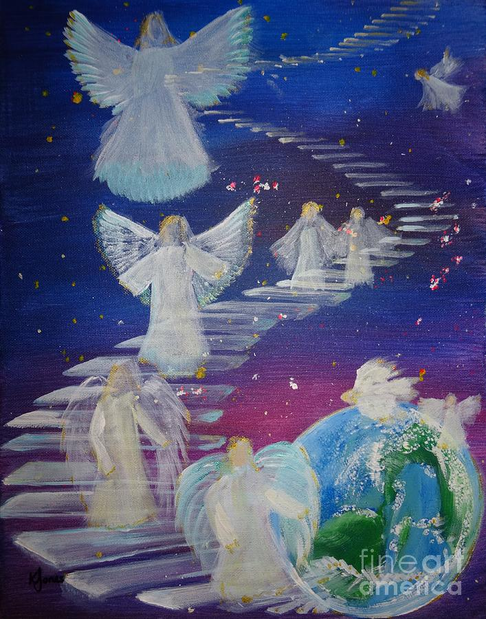 Stairway to Heaven by Karen Jane Jones