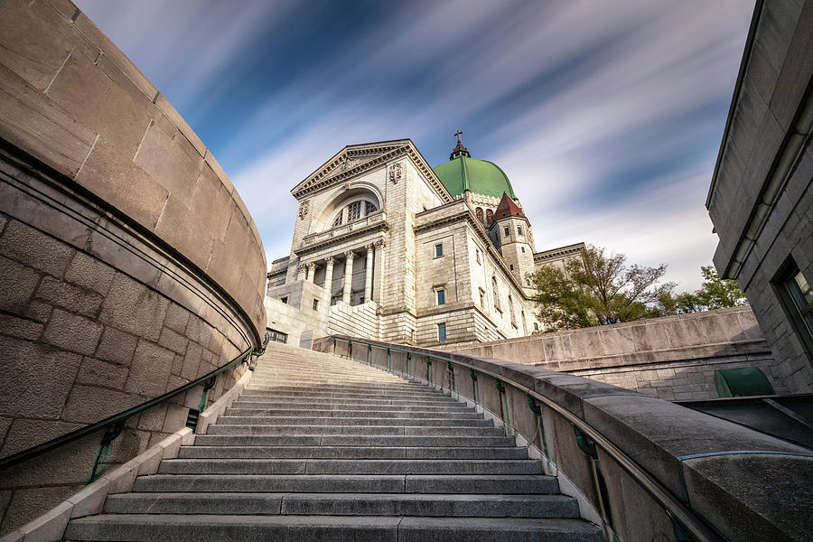 Stairway to St Joseph Oratory by Pierre Leclerc Photography