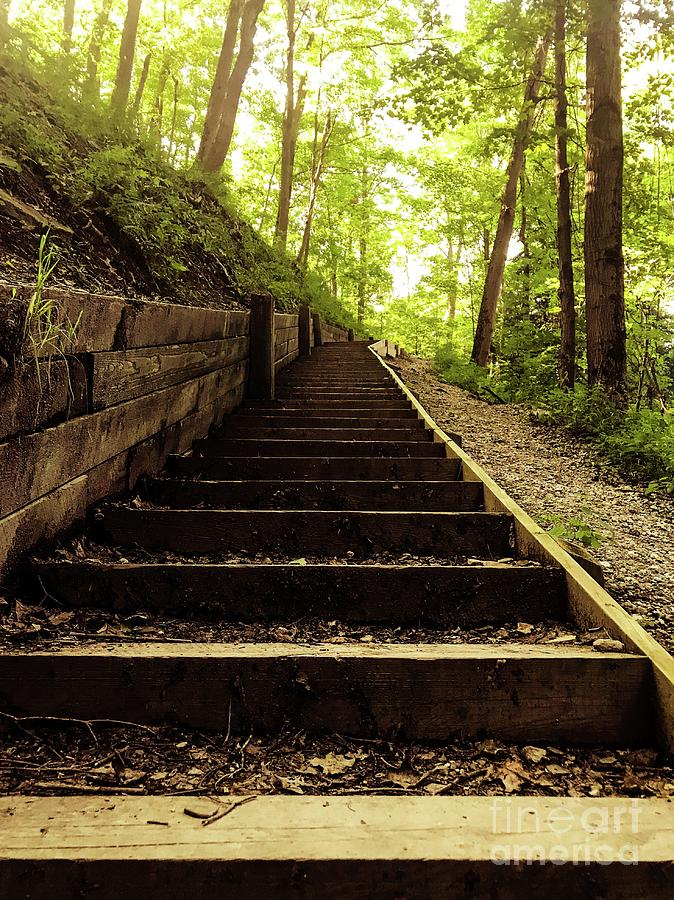 Stairway To The Gods Photograph