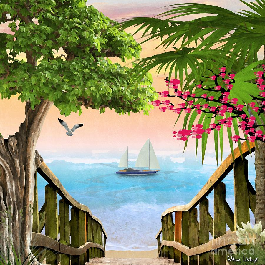 Stairway to the Sea by Gena Livings