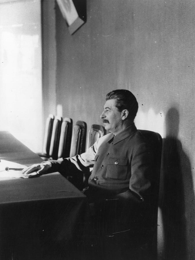 Stalin Photograph by James Abbe