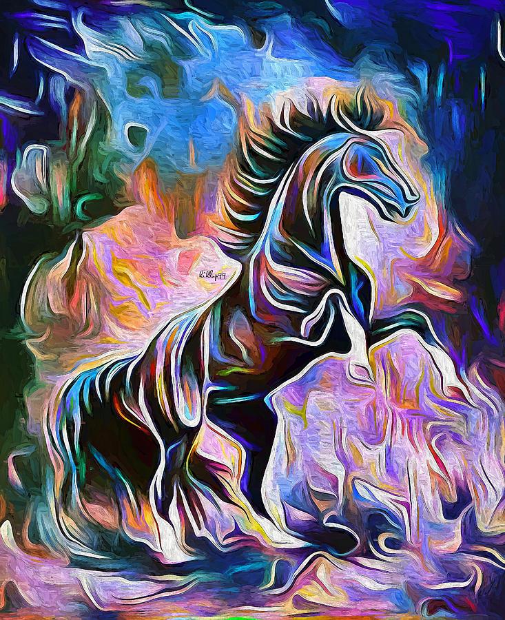 Stallion Painting