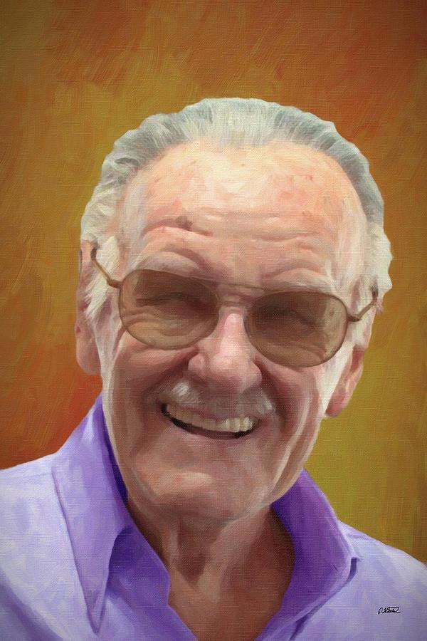 Stan Lee - DWP1543835 by Dean Wittle