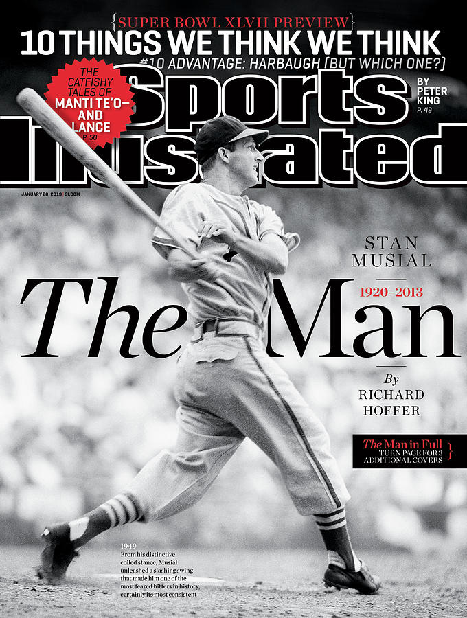 Stan Musial, The Man 1920 - 2013 Sports Illustrated Cover Photograph by Sports Illustrated