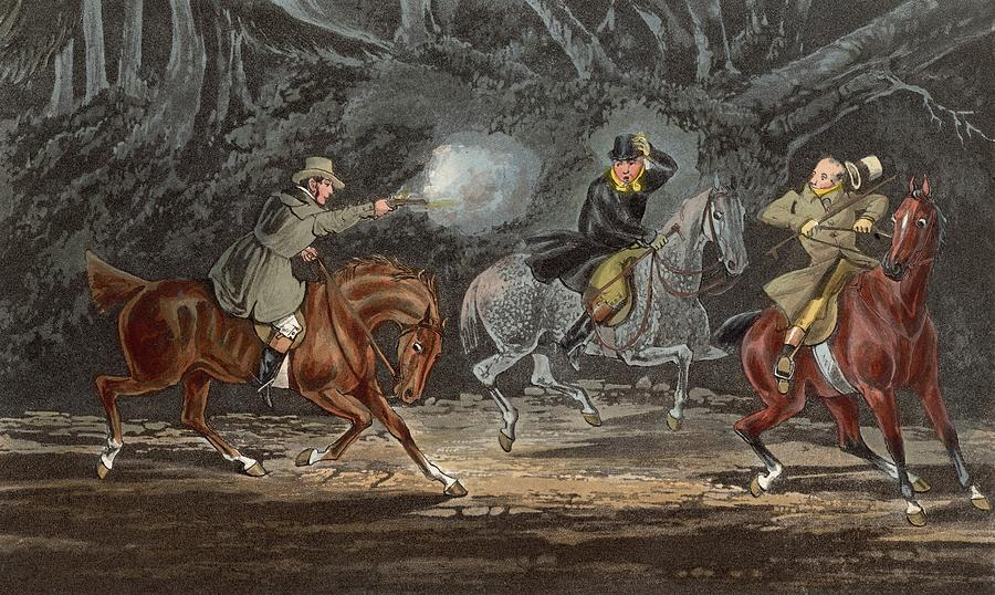 Horse Digital Art - Stand And Deliver by Hulton Archive