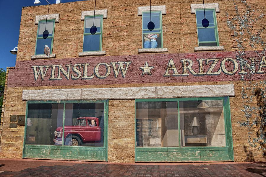 Winslow Photograph - Standin On The Corner In Winslow No. 2 by Marisa Geraghty Photography
