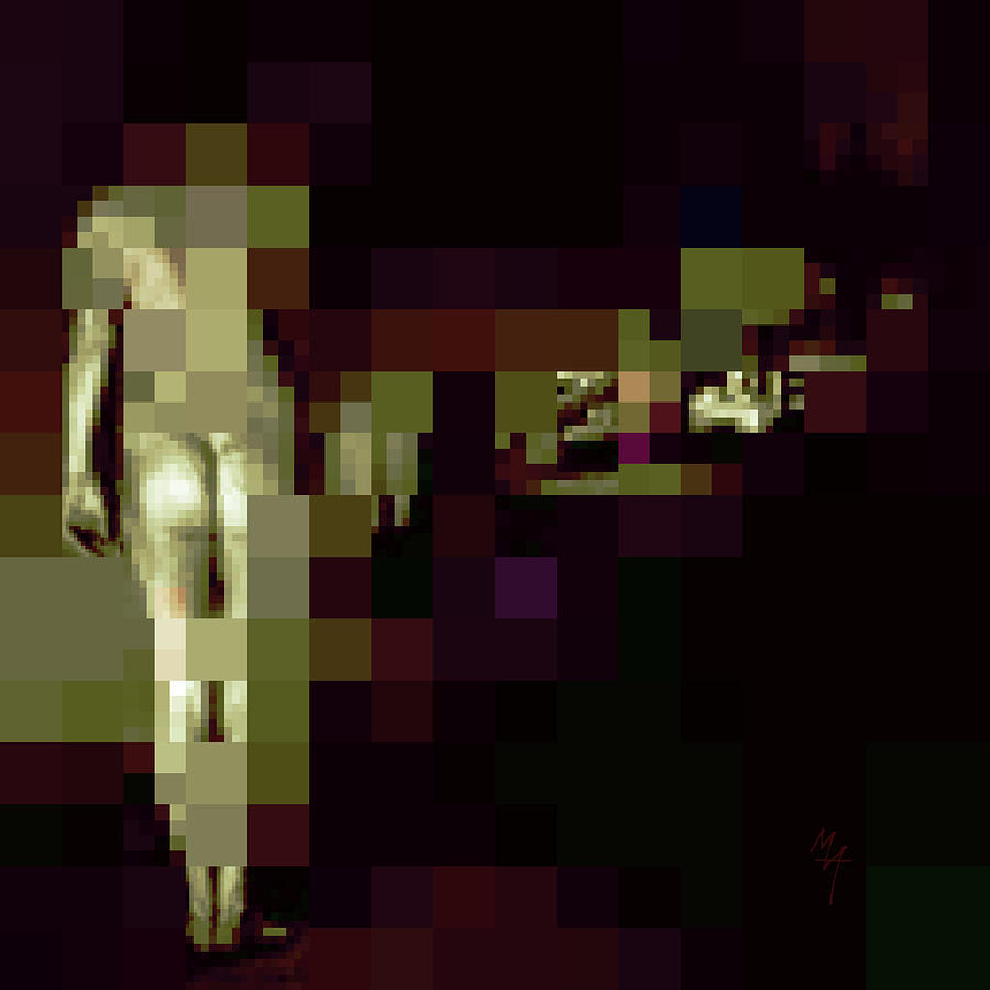 Standing Nude by Attila Meszlenyi