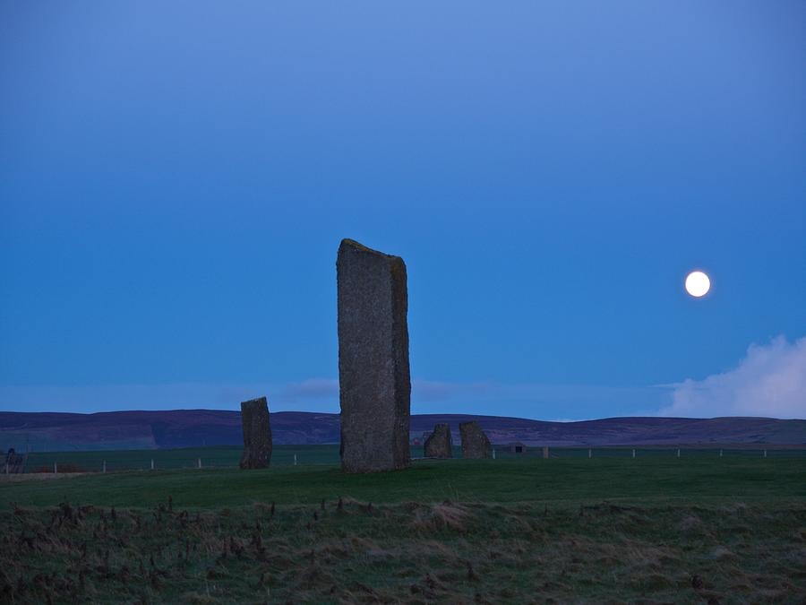 Standing Stones of Stenness by Brian Case