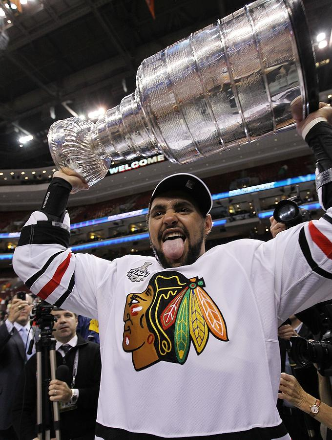 Stanley Cup Finals - Chicago Blackhawks Photograph by Bruce Bennett