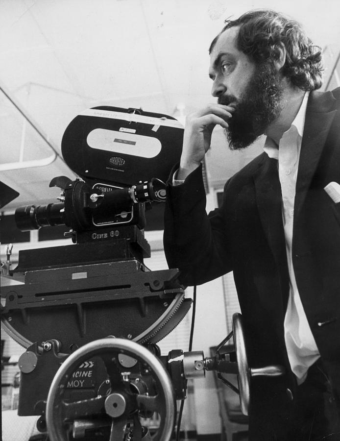 Stanley Kubrick Photograph by Evening Standard