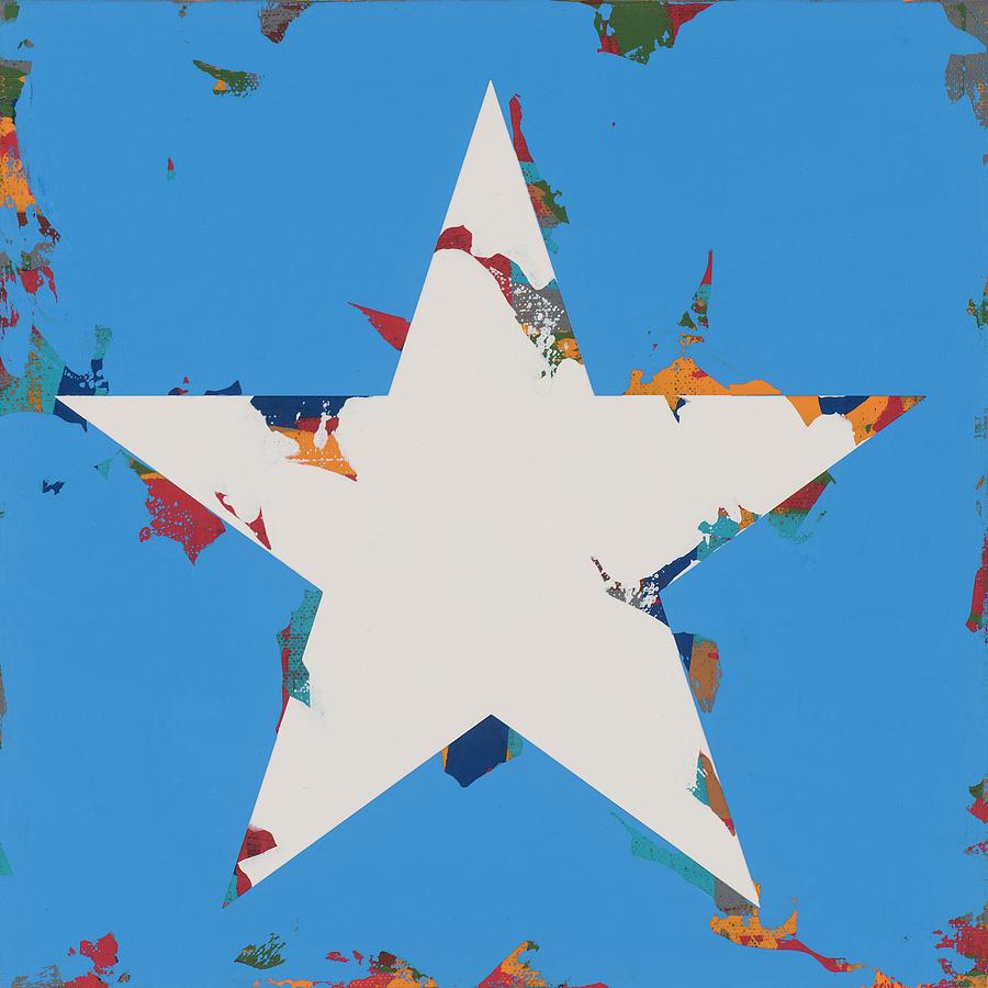 Star Painting - Star #12 by David Palmer