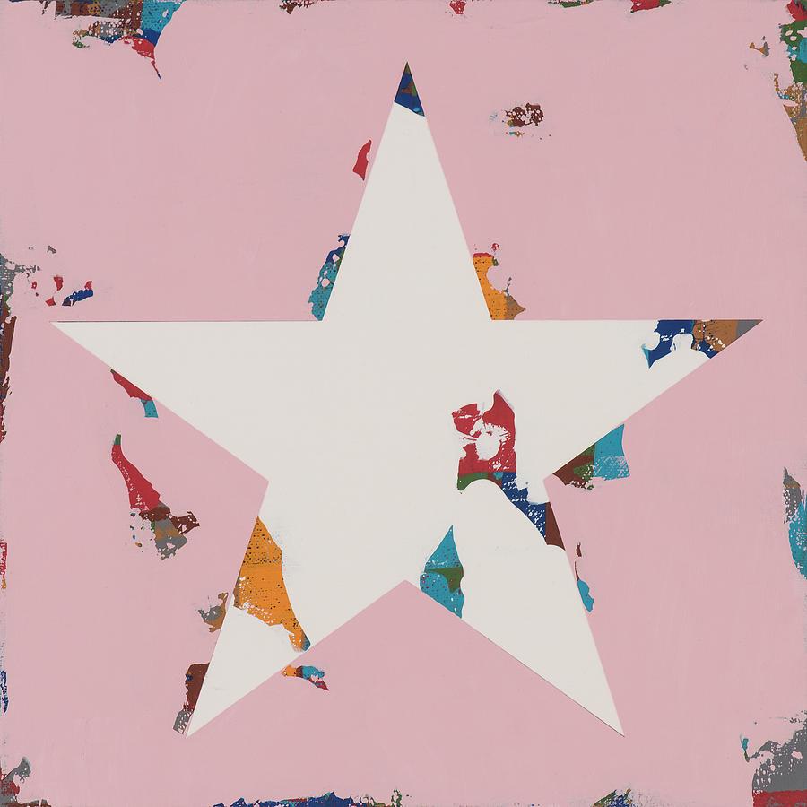 Star Painting - Star #14 by David Palmer